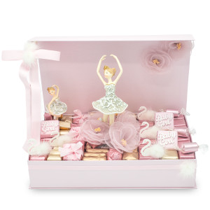 Ballerina Theme Magnet Chocolate Gift Box / 2.1 lb