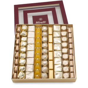 BURGUNDY WINDOW - Chocolate Gift Box