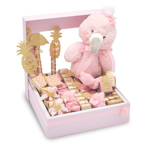 FLAMINGO DANCE -  Window Chocolate Gift Box