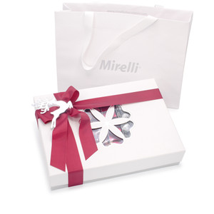 WHITE PRINCESS - Holiday Chocolate Gift Box - White / Platinum Accent