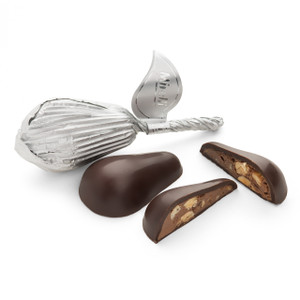 Premium Belgian Chocolate-Pear shape Semi Sweet