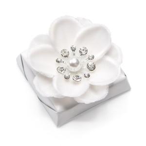 BRIGHT - Wedding Decorated Chocolate / White Metallic