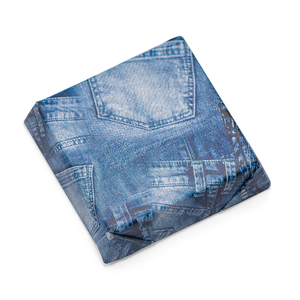 JEANS - Double Wrapped Square Chocolate Bar