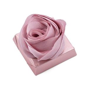 ROSA 2- Decorated Wedding Chocolate Bar / Dusty Rose