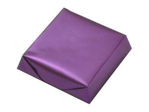 Chocolates Wrapped Shiny Metallic Purple