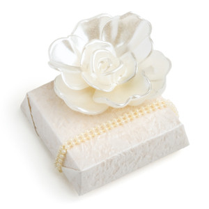 Decorated Chocolates w/Pearl Flower