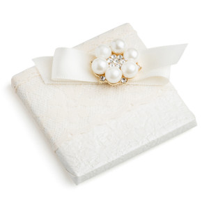 Decorated Chocolates Wedding w/Pearl Embellishment