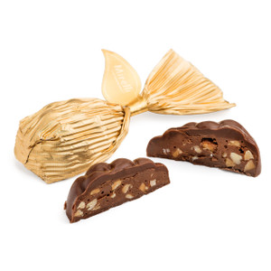 Milk Chocolate Almond Praline-Grape Clusters Shape