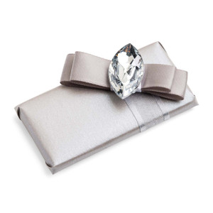Decorated Chocolate Marquise Stone