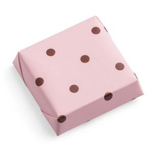 Pink Brown Pokka Dots-4706