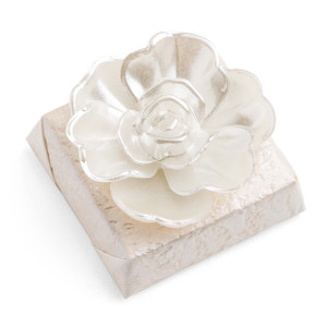 Decorated Chocolate Pearl Rose