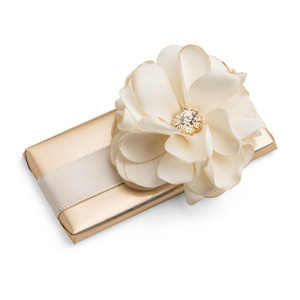 Decorated Chocolate Bar Chiffon Flower