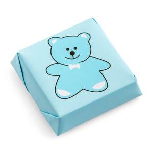 Teddy Bear Chocolate Squares-Dark (Semi-Sweet 58%)
