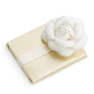Decorated Chocolate Bar/Chanel Style Flower