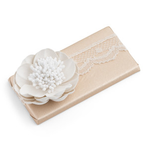 Decorated Chocolate Bar/Flower