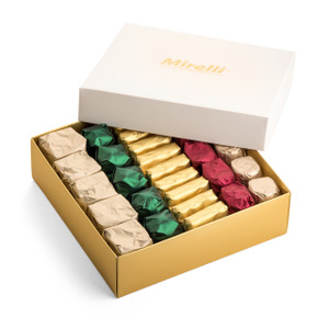Premium Belgian Chocolate White Gift Box