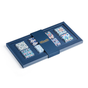 Mosaic Collection Premium Belgian Chocolate/Navy