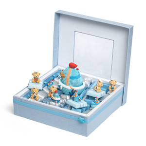 Nautical Theme Baby Boy Chocolate Box