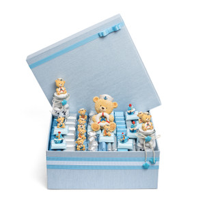 Nautical Theme Baby Boy Chocolate Box/Large Size