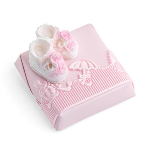 PINK BOOTIES - Decorated Chocolate Favor