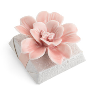 CLASSICAL BLOOM- Decorated Chocolate Favor