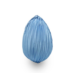 Blue Medium Chocolate Egg/4 OZ