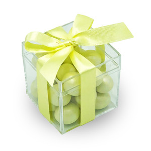 Easter Yellow- Medium Classic Mirelli Chocolate Gift Box with Ceramic Bunny