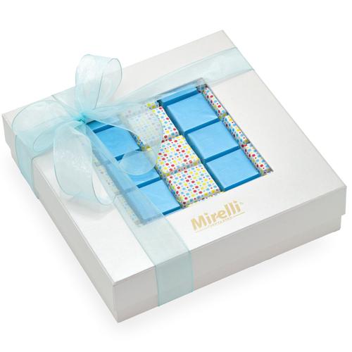 POLKA BLUE - Gift Box / 25 pcs.