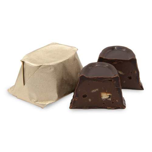 PRALINE CONFECTION semi sweet in ivory. Approx. 9 pieces per 4 ounces