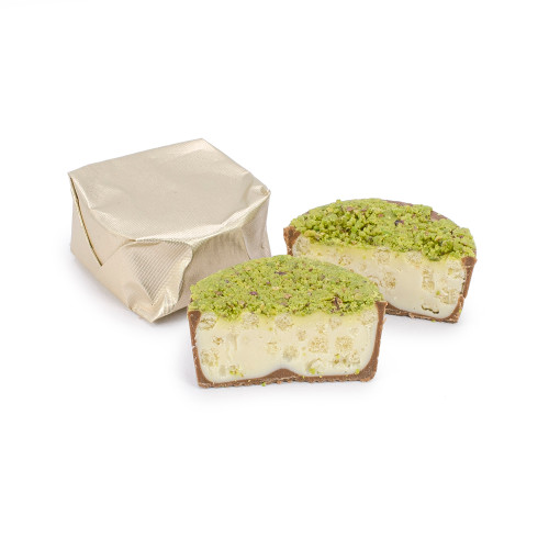 ASHTA BOUZA - Topped with Crushed Pistachio Nuts