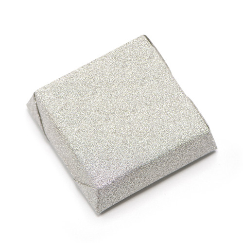 GLITTER - Double Wrapped Square Chocolate Bar