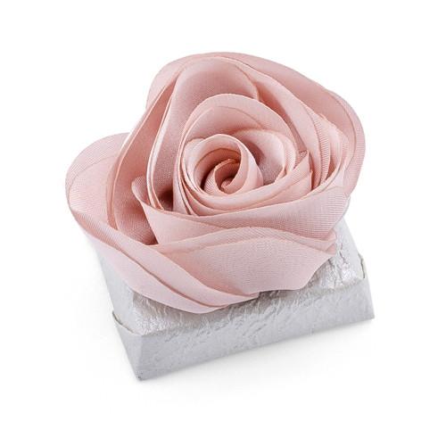 ROSA - Decorated Wedding Chocolate Bar / Pink Rose