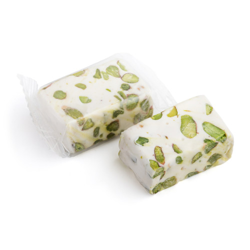 Nougat with Crushed Pisatchio Nuts