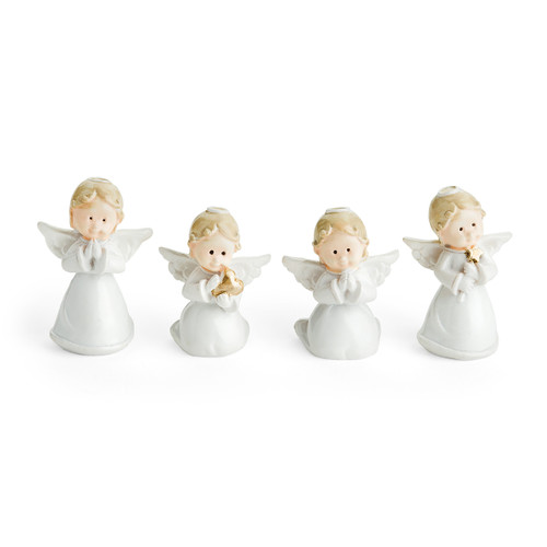 Four Different Postures of Assorted Baby Angels