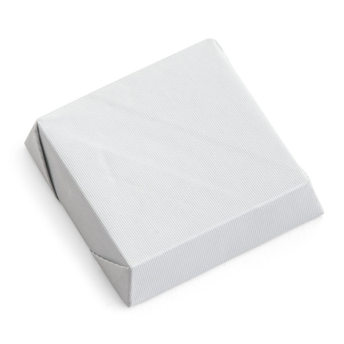 Square Thick White Foil Wrapped Chocolate