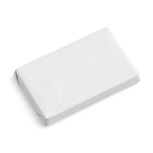 Bridal Shower Chocolate Favor/White/Small Rectangle