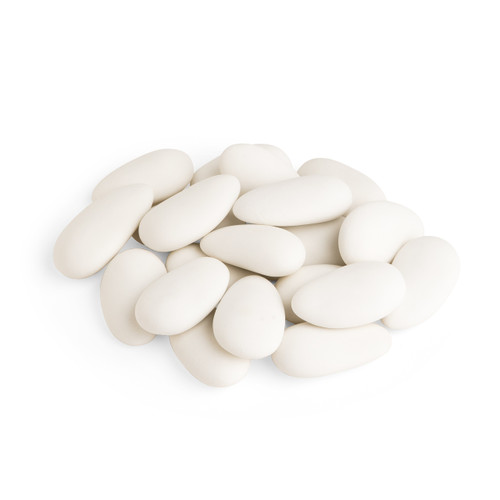 Jordan Almonds Super Fine Shell/White/16 Oz (454 G)