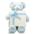 BIG BLUE TEDDY GIFT / w/Mirelli Un Petit Chocolate Gift Box / 1.1 lb