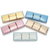 COLORFUL TREAT - Square Chocolate Bar / 6 PCs. / 5 Colors Available