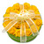 YELLOW - ROSE FLOWER GIFT BOX -  Assorted Belgian Chocolate / 1.6 lb