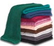 Colors (from top to bottom): Hunter Green, Teal, Navy, Burgundy, Mauve, Peach, Brown, Silver, Charcoal, Black