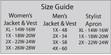 Plus Size Women's Vest