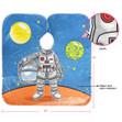 Princess/Astronaut Kids Shampoo Cape (2 Pack)
