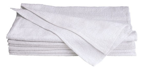 White Salon Towels