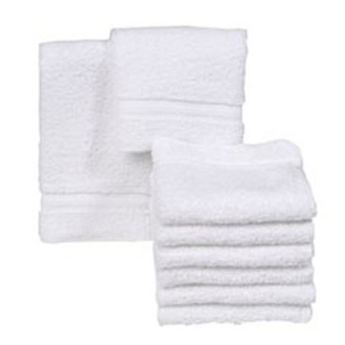 Majestic White Wash Cloths
