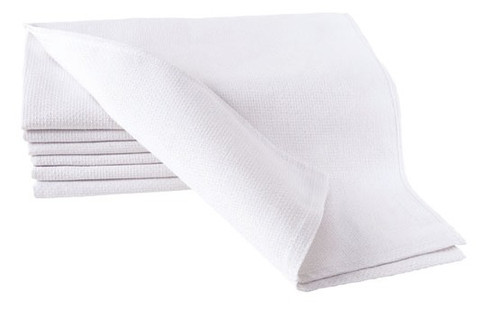 White Barber Towels