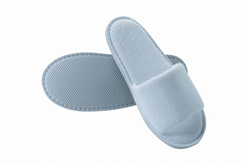 Terry Cloth Pedicure Slippers