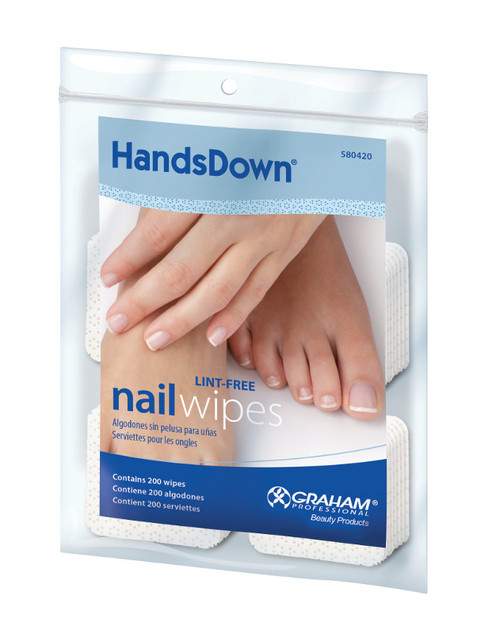 Hands Down Nail Wipes
