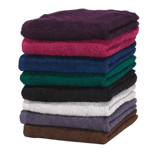 Colors from top to bottom (Eggplant, Burgundy, Navy, Hunter Green, Black, Silver, Charcoal, Brown)