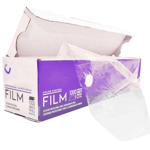 Cling-Free Balayage Haircoloring Film